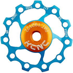 KCNC Jockey Wheel cuscinetti SS 11 denti blu